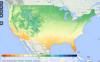 National Phenology Network Gridded Climate Data Visualization